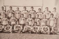 Curt Ball's football team photo
