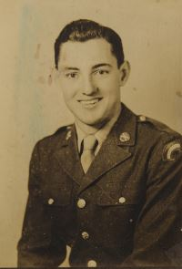 Curt Ball in Army uniform