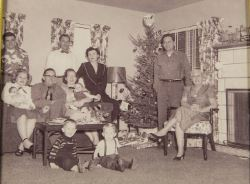 J. Justin Jenson with family at Christmas