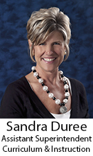 Photo of Sandra Duree, Assistant Superintendent of Curriculum & Instruction
