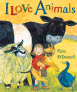 I Love Animals Book Cover
